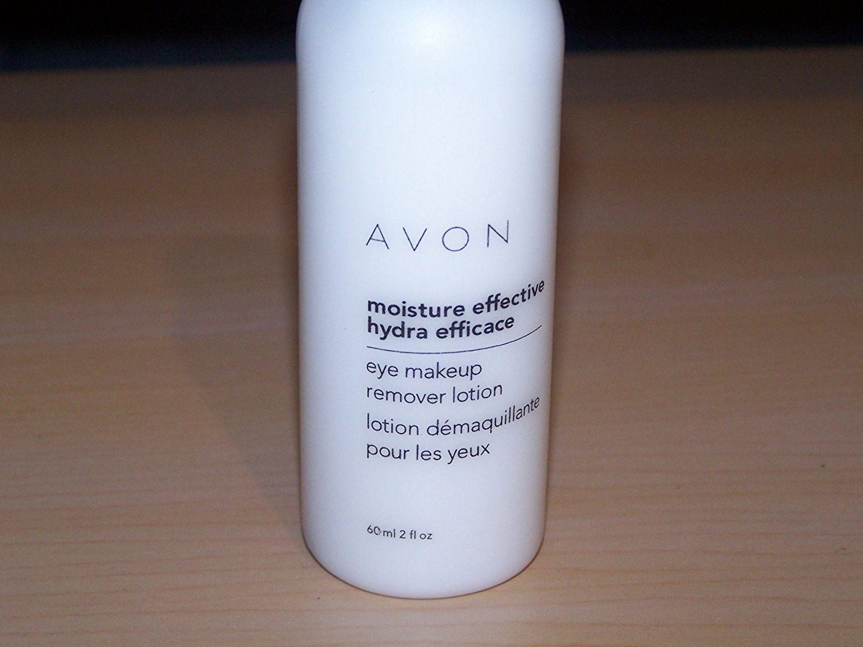 Avon Moisture Effective Eye Makeup Remover Lotion, 2 Fl Oz