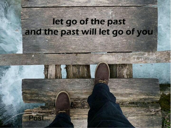 Let go of past