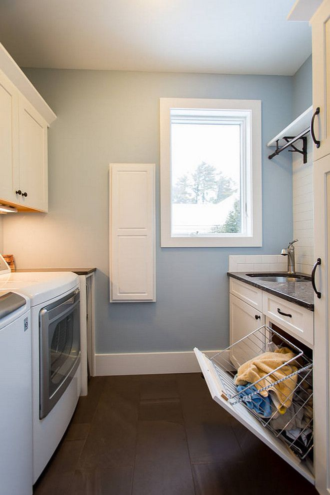 Interior design ideasblue laundry room paint color is - Best laundry room colors ...