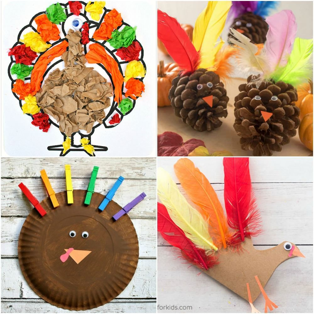 The Ultimate List of Thanksgiving Crafts for Toddlers - DIY Candy