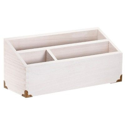Storage Unit White Wood Threshold