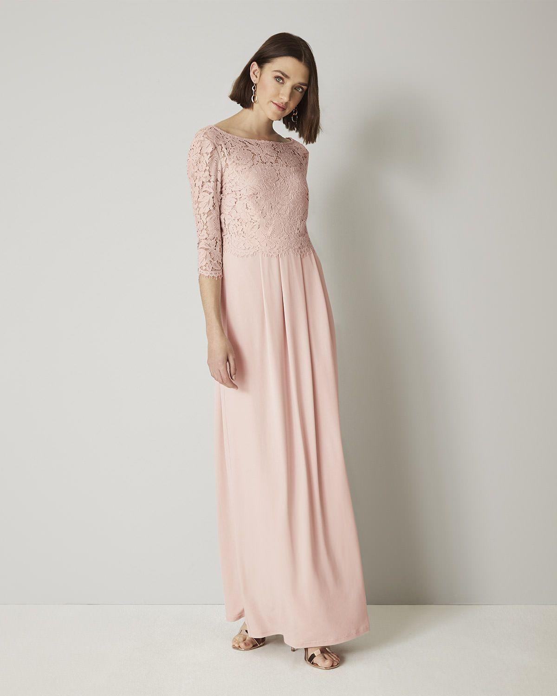 Portia Lace Maxi Bridesmaid Dress