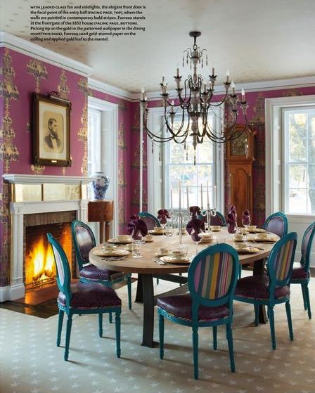 ANICHINI linens in Steven Favreau's Vermont home