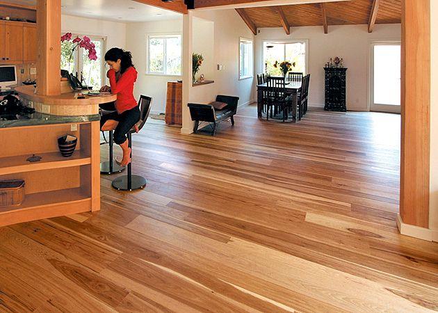 Vermont Plank Flooring Dark Wide Cherry Hickory Red