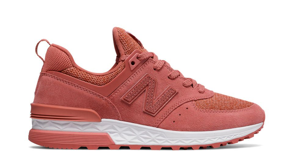 574 Sport, Copper Rose with White | New balance, Sport