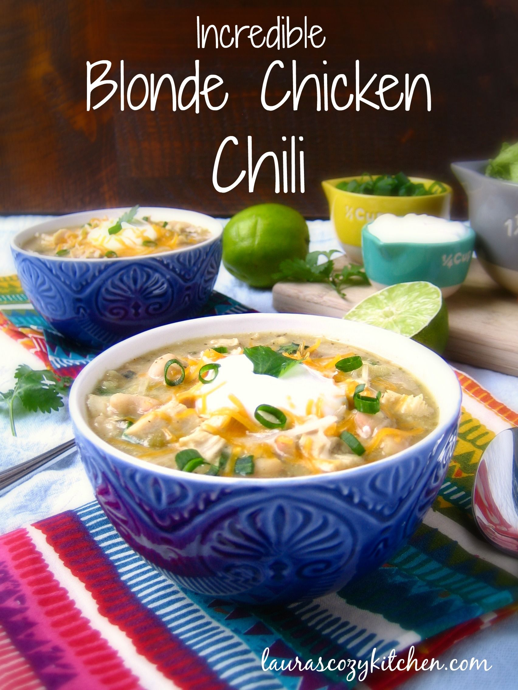 The warmest and coziest chili of all, perfect for a cold winter night.
