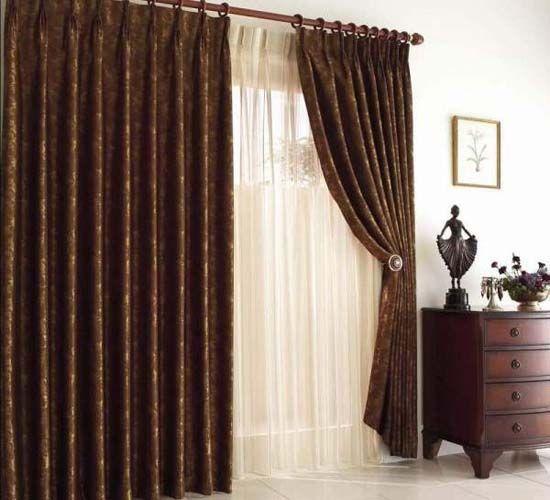 Diferentes tipos de cortinas para combatir el fr o del for Decoracion de cortinas para comedor