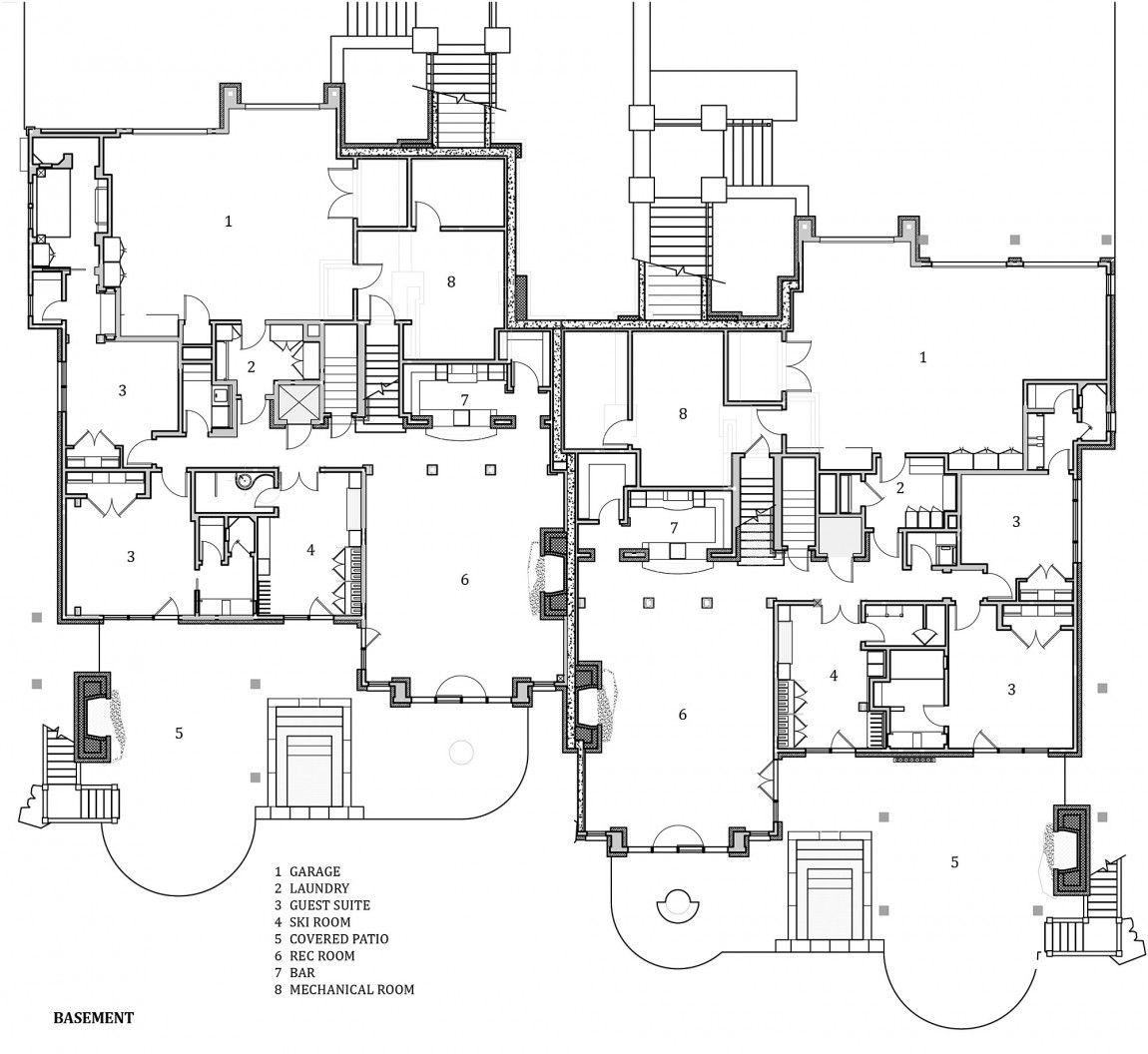 Slopside Chalets By Locati Architects Homedsgn Big Sky Ski Chalet Architect
