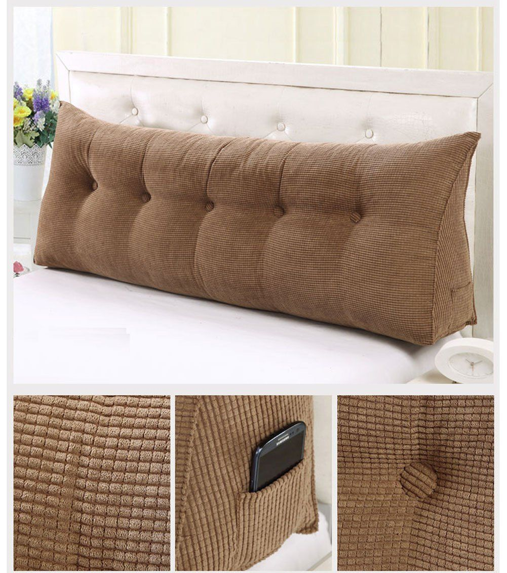 Reading Pillow Bed Vercart Sofa Bed Large Filled Triangular Wedge Cushion Bed