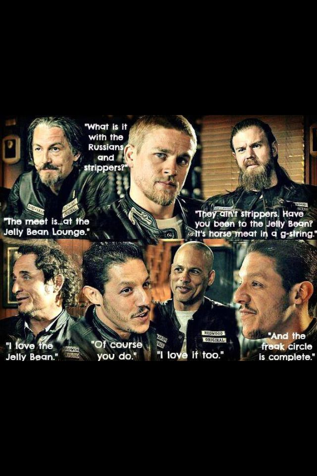jelly bean tv the jelly bean scenelol sons of anarchy pinterest jelly