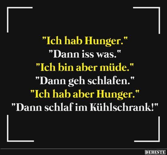 Ich Hab Hunger Lustige Bilder Spruche Witze Echt Lustig