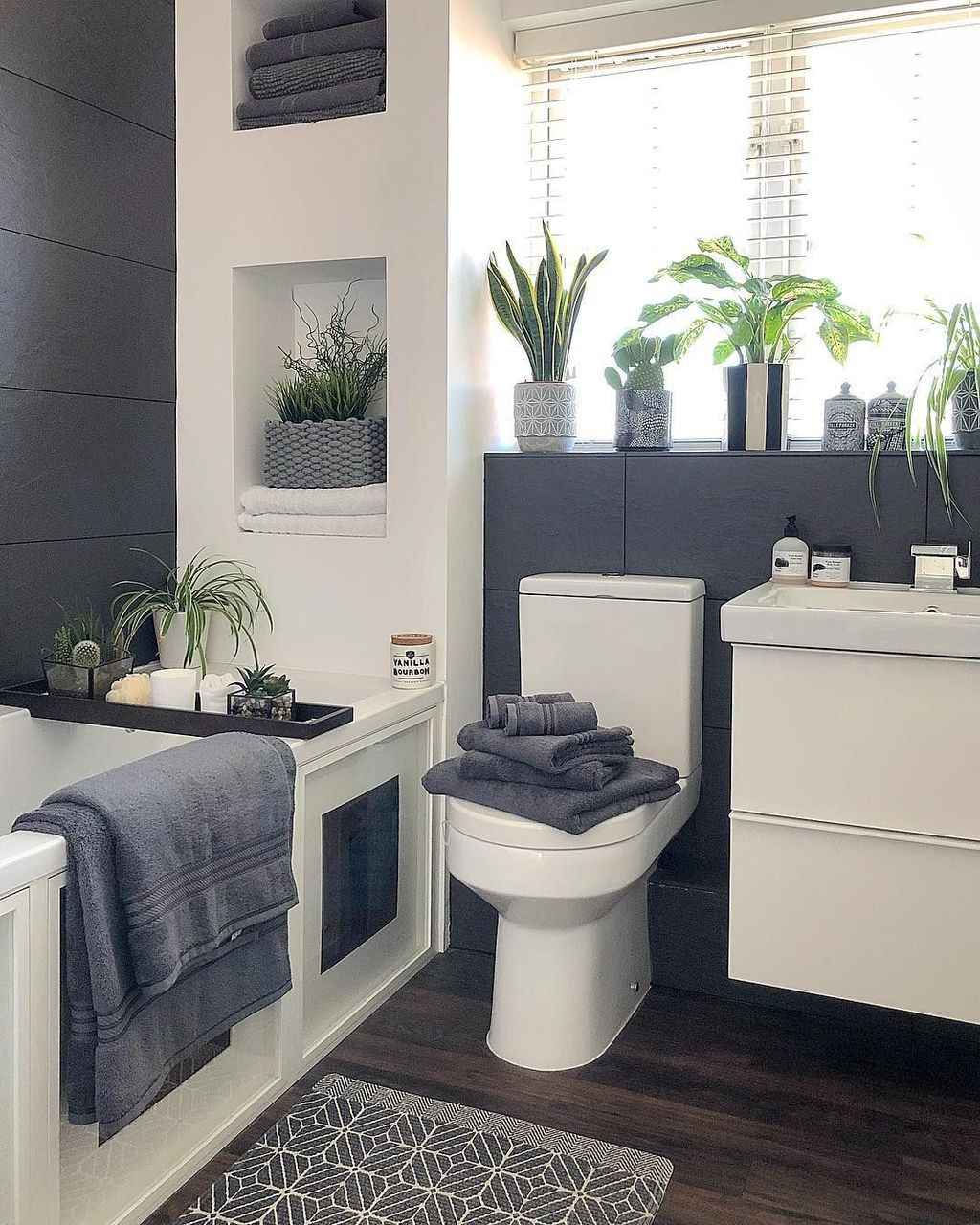 Photo of 30+ Best Gray And White Bathroom Design For Your New Bathroom Inspiration