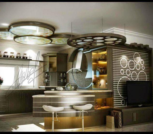 La barra en la cocina – chispis.com