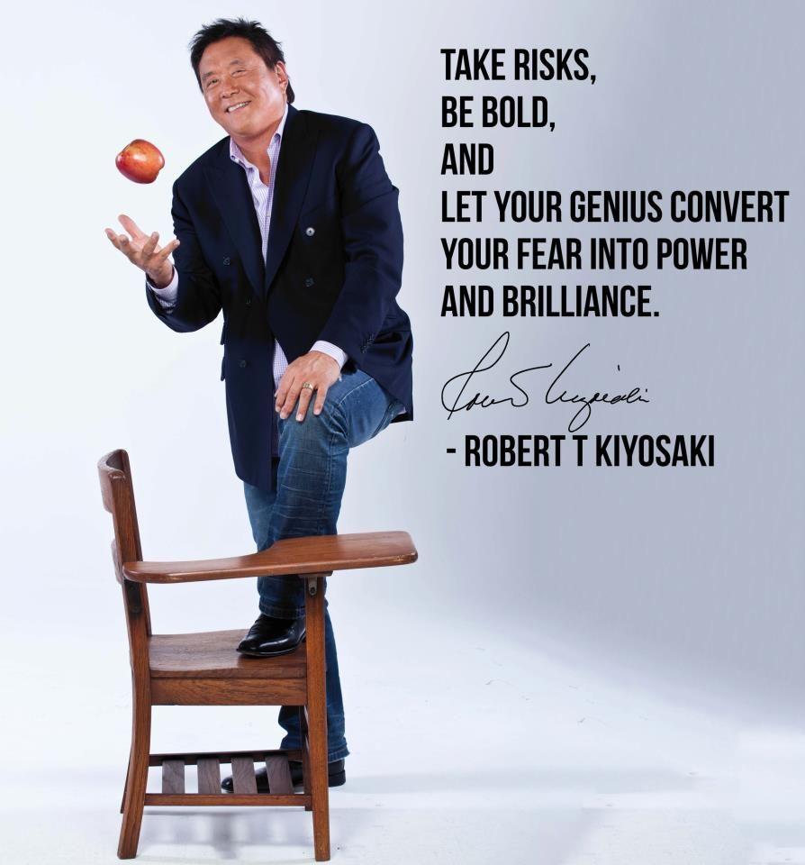 Robert Kiyosaki, Personal Development, Success