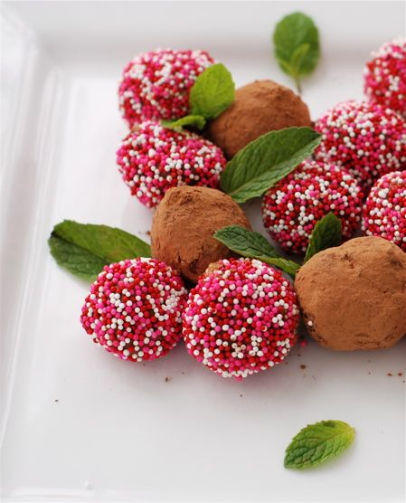 chocolate truffles ~ 4 flavors! a perfect gift for your Valentine