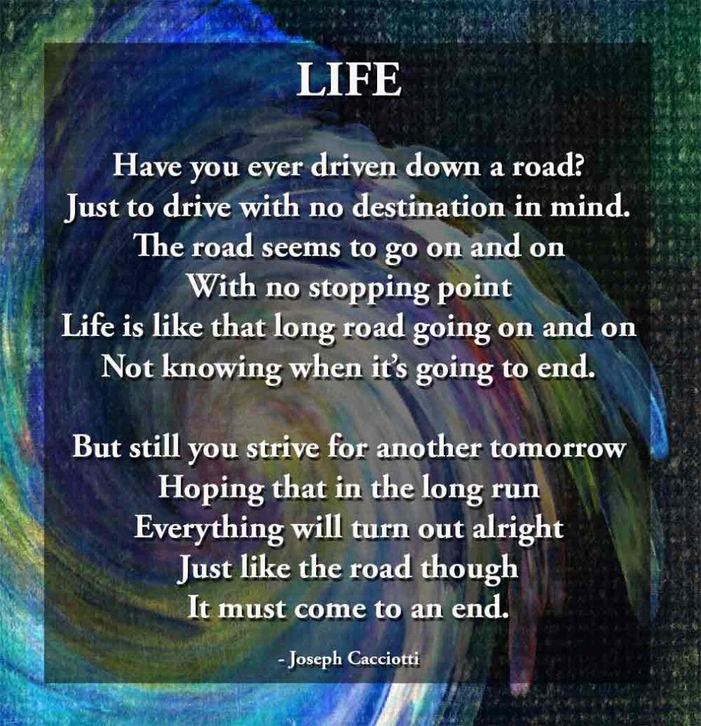 25 Inspirational Poems About Life | who me | Pinterest ...