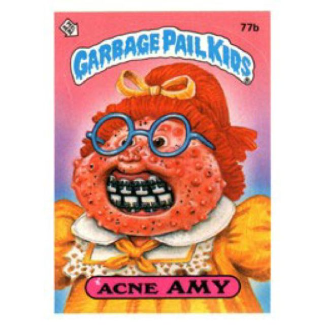 Garbage Pail Kids. Why in the world did I have so many of these things?