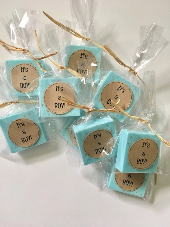 NEW Baby Shower Pastel Blue Baby Bottle Containers Party Favor