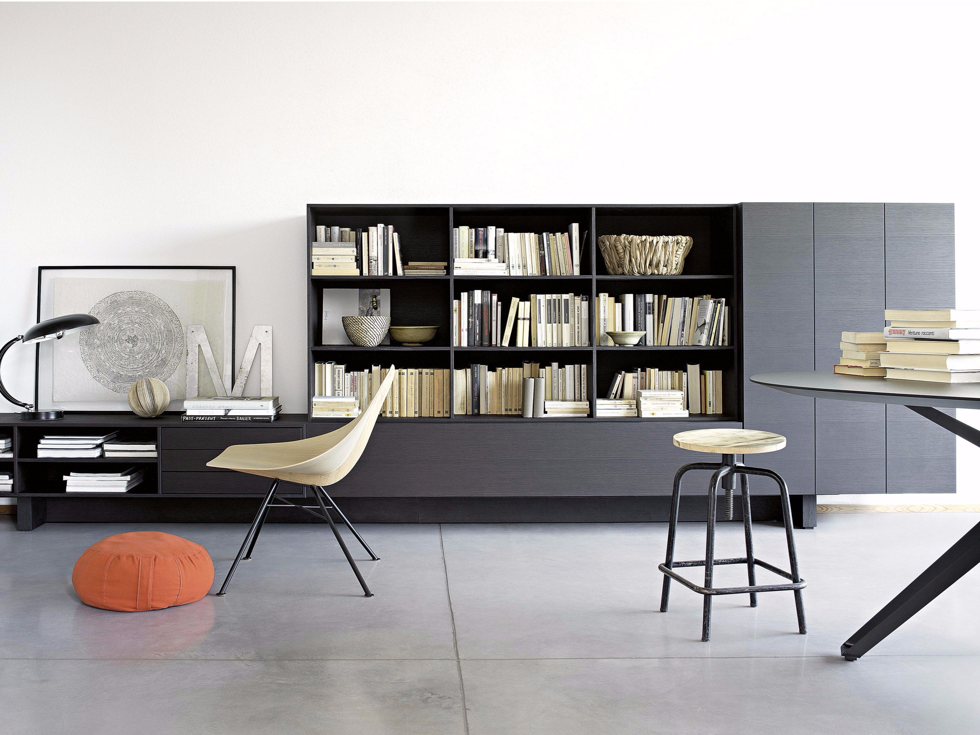 Libreria a parete componibile sospesa T030 | Libreria - Lema | My ...