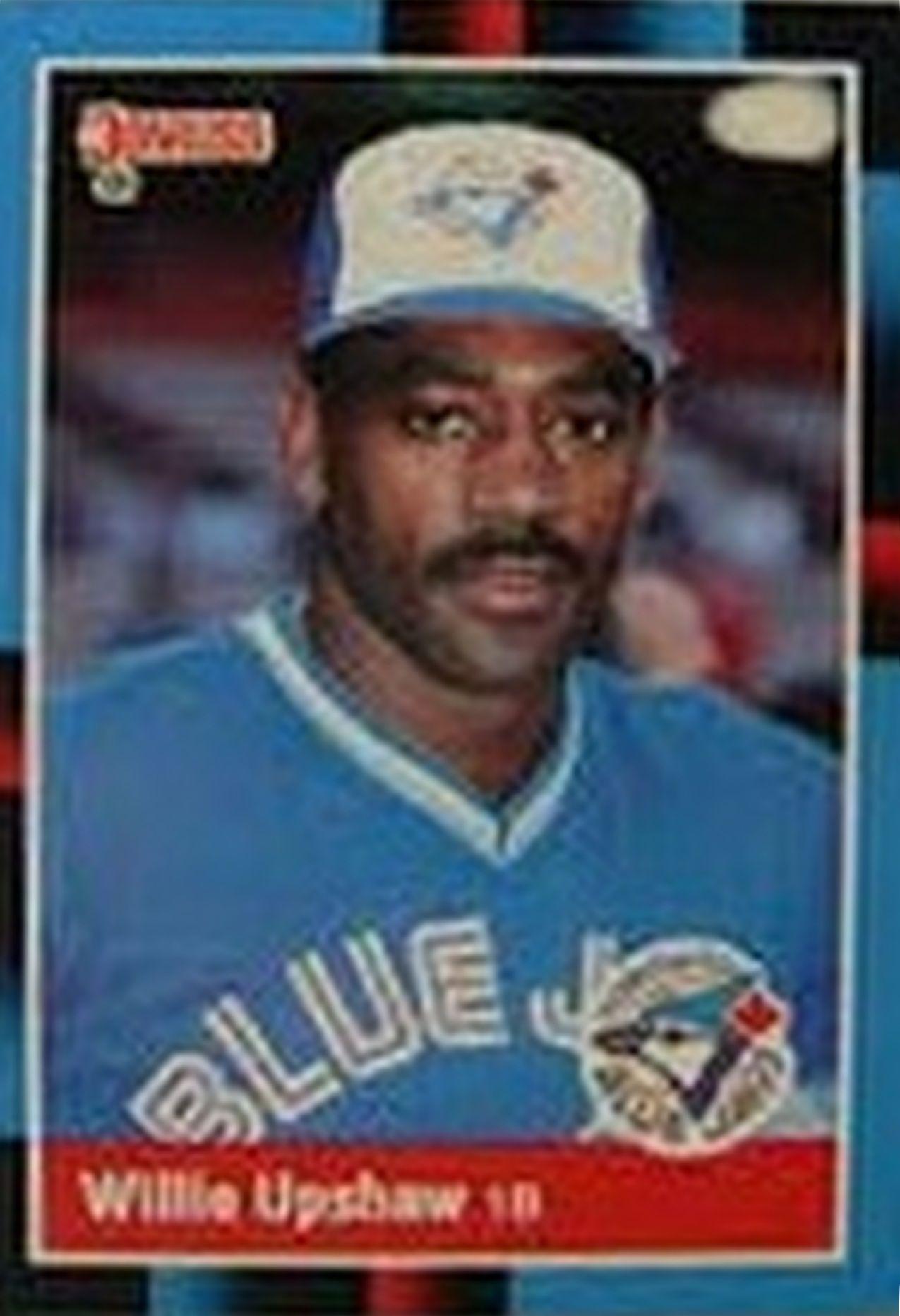 Willie Upshaw Tarjetas de béisbol, Jugadores de béisbol