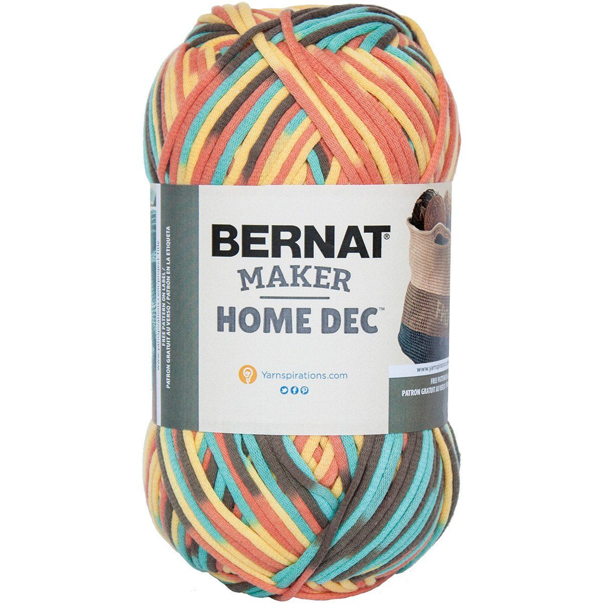 Bernat® Maker Home Dec Yarn Sunset Sea Variegate