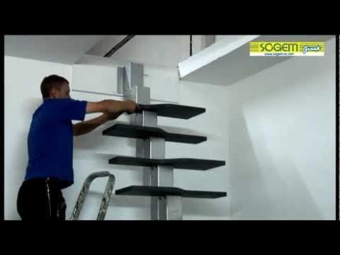 Best Montage D Un Escalier Gain De Place En Kit Phoenix 400 x 300