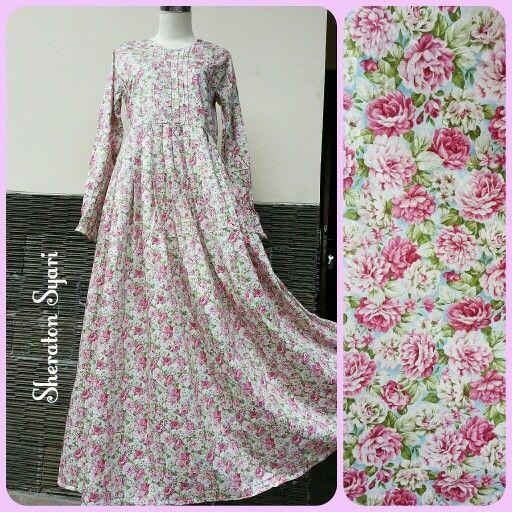Gamis Bahan Katun Jepang Gamis Abaya Syari Pinterest Dresses