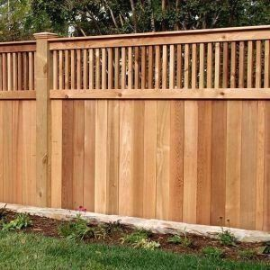 How Much To Install Wood Fence   1000 - Modern   1000 in ...