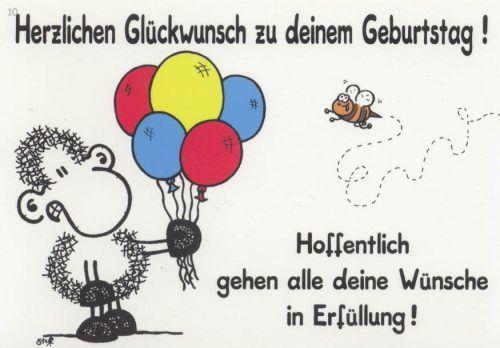 Herzliche Gluckwunsch Alles Gute Geburtstag Sheepworld
