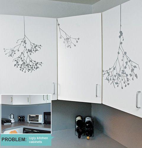 Gloss Self Adhesive Contact Paper Pvc Kitchen Cupboard Door Cover Wallpaper Art Kitchen Wallpaper Kitchen Cabinets Makeover Wallpaper Furniture