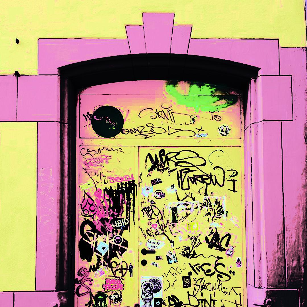 sowasvonulm Sehr schöne Tür in der Kohlgasse. Fehlt nur noch der ...
