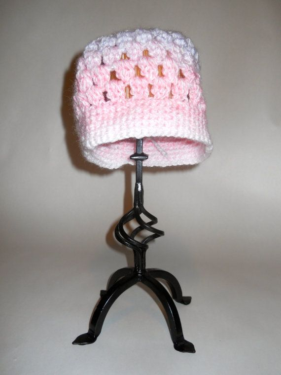 Crochet Baby Hat Made to Order by YarnJunkieCreations on Etsy, $15.00