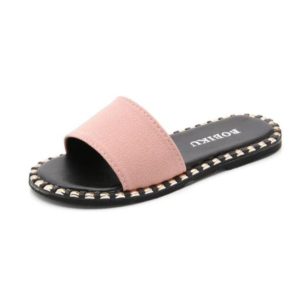 Size 26 37 Summer Kids Slippers Girls Sandals Fashion Anti Slip Beach Slippers Solid Colors Girls Slippers 9cv0337 Slippers For Girls Kids Slippers Sandal Fashion