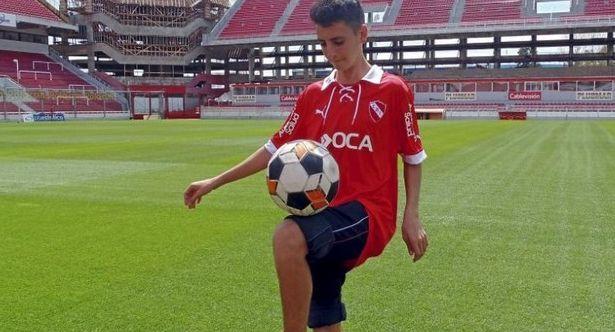 Lucas Patanelli, el nuevo Messi |Créditos ambito.com/noticia.asp?id=832451