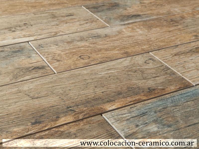 Colocacion porcelanato simil madera pisos pinterest - Plaqueta imitacion madera ...
