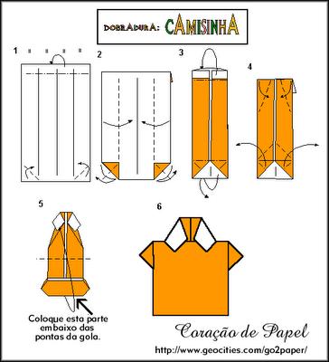Pin De Charlotte En Kards Camisa De Origami Camisas De Papel Y