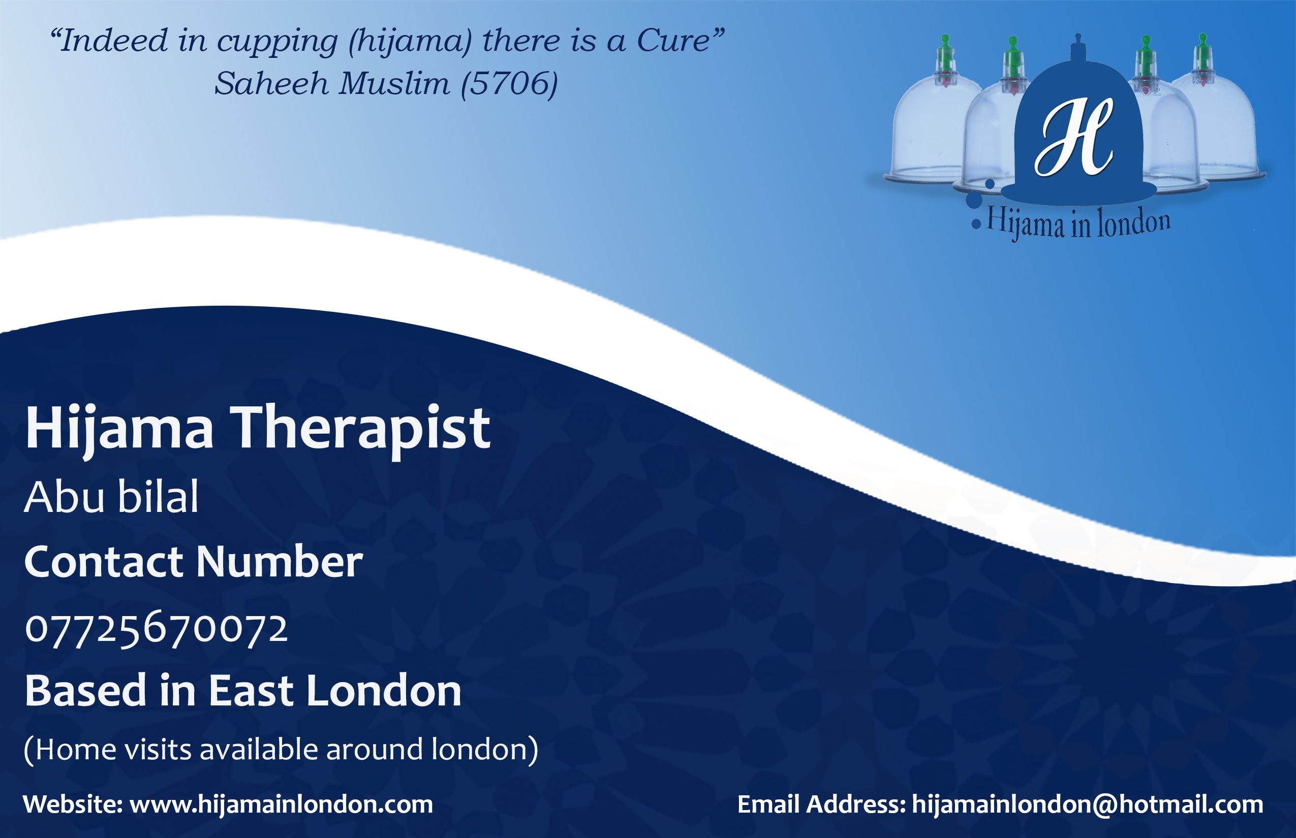 Hijama therapist cupping clinic business cards based in london cupping clinic london hijama clinic hijama in london cupping therapyhealth benefitsclinicin londonbusiness cardslipsense colourmoves Gallery