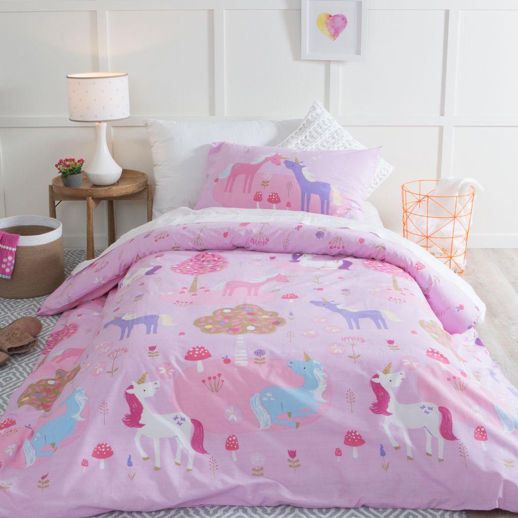 unicorn dreams quilt cover set | unicorn room | pinterest | quilt