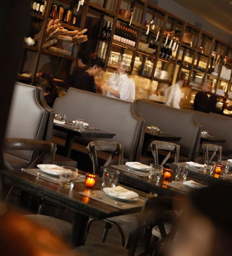 Contemporary restaurant furniture - Luxury Restaurant Dining Table Chair Furniture Design Dbgb Kitchen Bar East Village Nyc