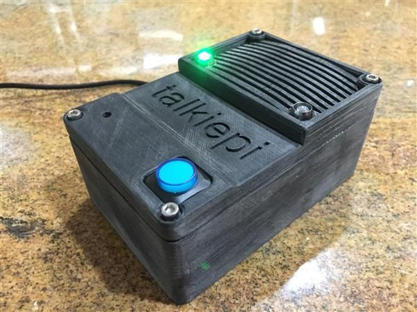 DIY 3D printed Rasberry Pi driven Walkie-Talkie perfect for a ...