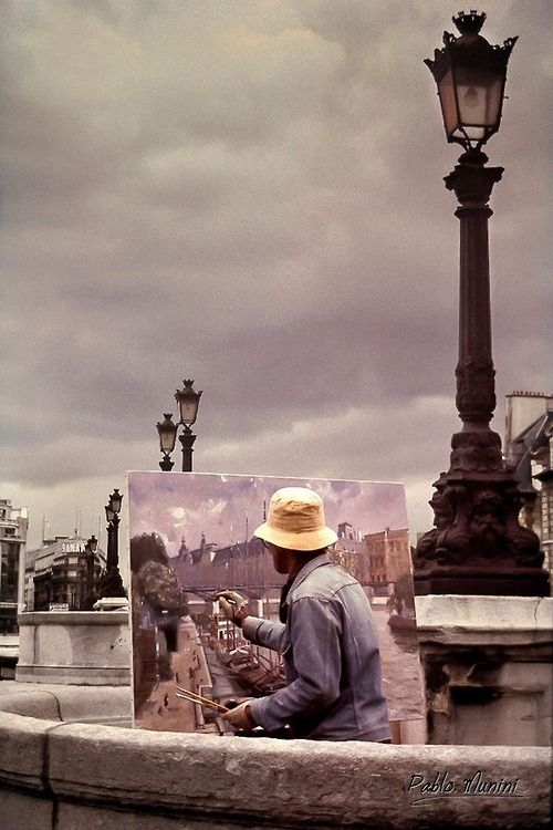 ♔audreylovesparis  Pont Neuf, Paris