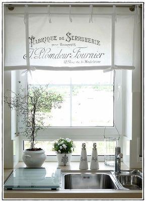 das Küchenfenster   deko Möbel   Pinterest   Küchenfenster, Gardinen ...