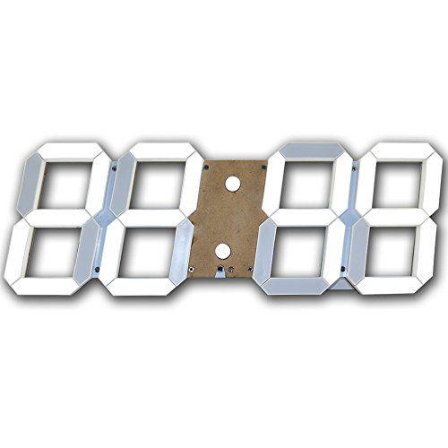 Pin by Clock Panda on Led Clock | Clock, Alarm clock, Led