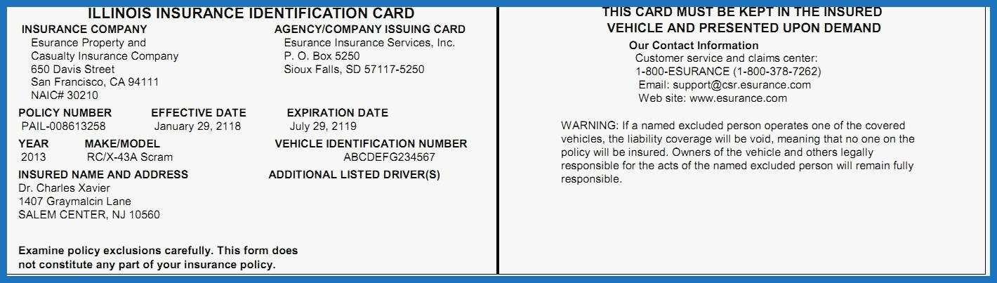 Auto Insurance Card Fake 16 Important Life Lessons Auto Insurance Card Fake Taught Us Card Template Progressive Insurance Progressive Car Insurance
