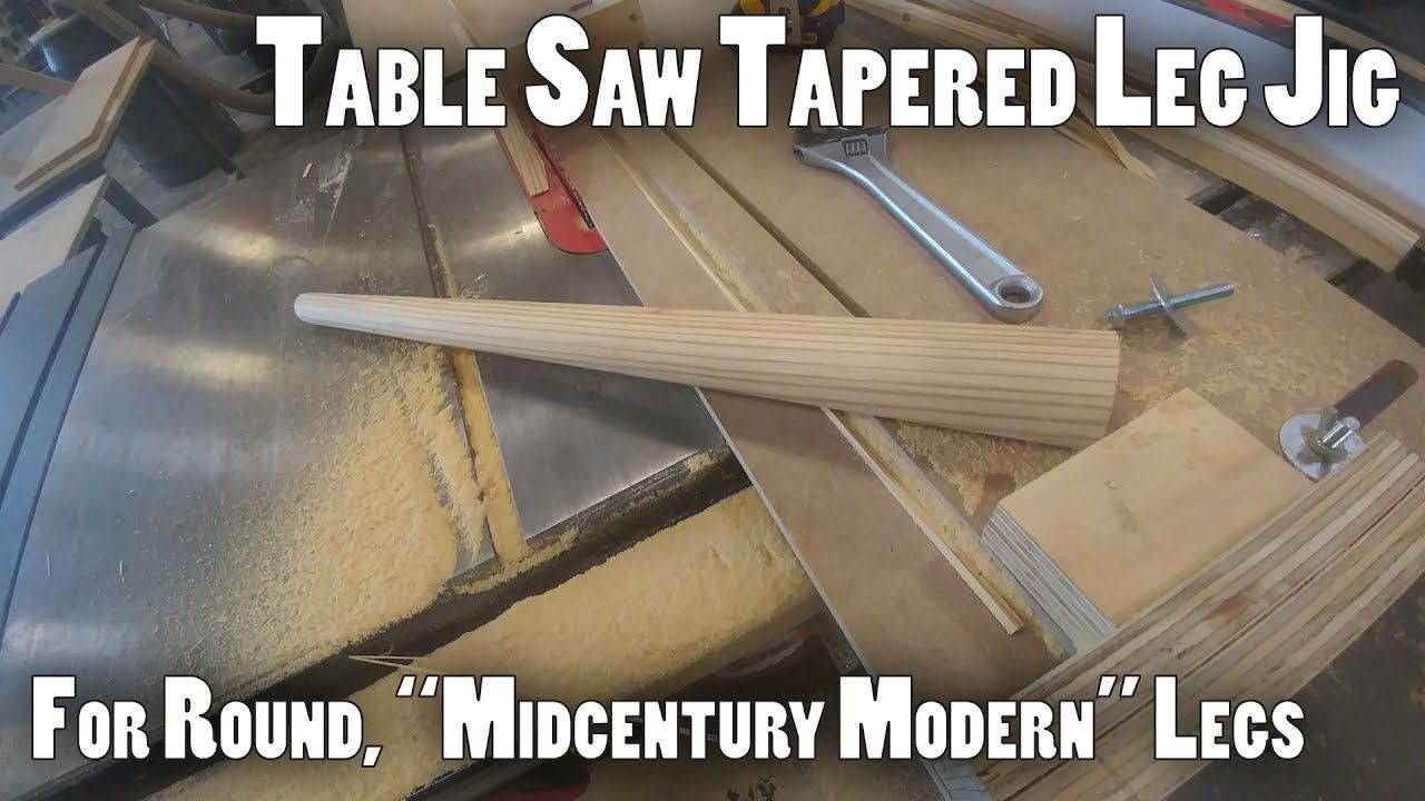 Try This For A Perfect Fitting Apron Between Tapered Legs Tapered Legs Circular Saw Jig Jig