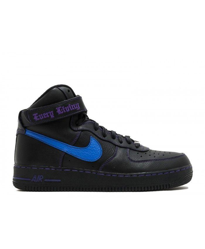 485097072c976 Air Force 1 High Vlone Black, Prize Blue, Court Purple 778911-906813 ...