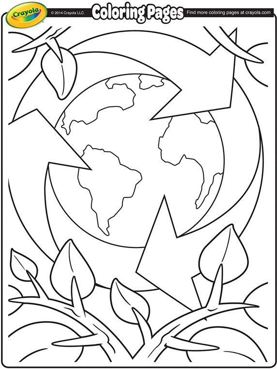 Earth Day Recycling on crayola.com | Ziyaret Edilecek Yerler | Pinterest