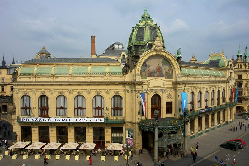 Czech Republic - Municipal House in Prague | Prague, Czechia, Czech republic