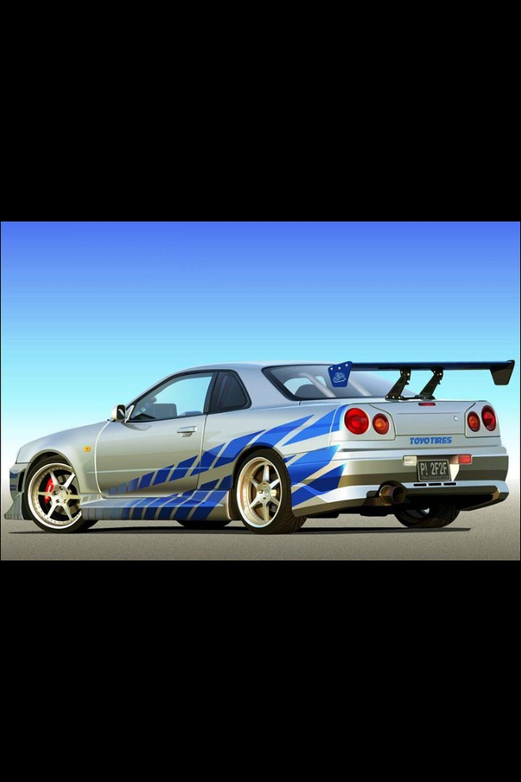 Nissan Skyline GTR R34 Fast And Furious Awesome Nissan