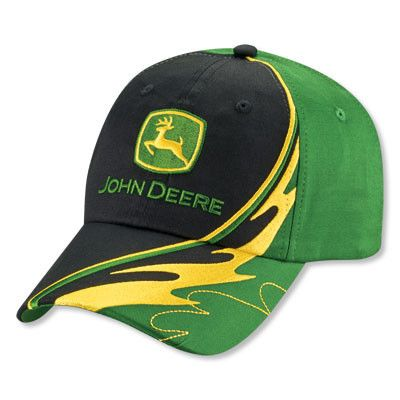 John Deere Wake Cap – GreenToys4U.com  hat  cap  johndeere  green  yellow ec6846d14d1